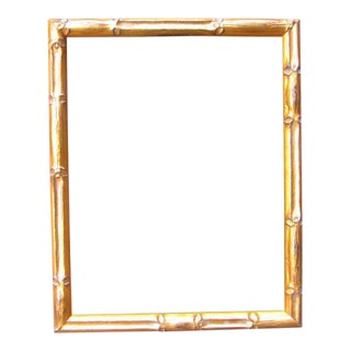 Gold Bamboo Picture Frame