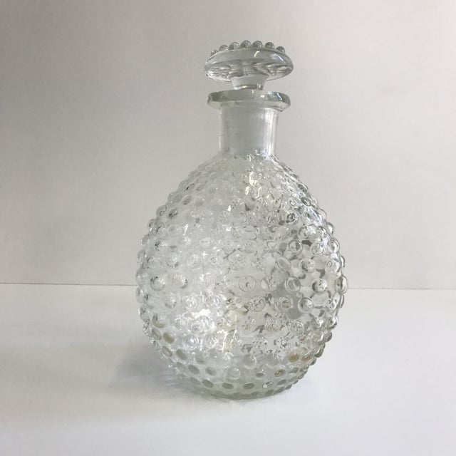 Hand Blown Hobnail Glass Decanter - Image 2 of 6