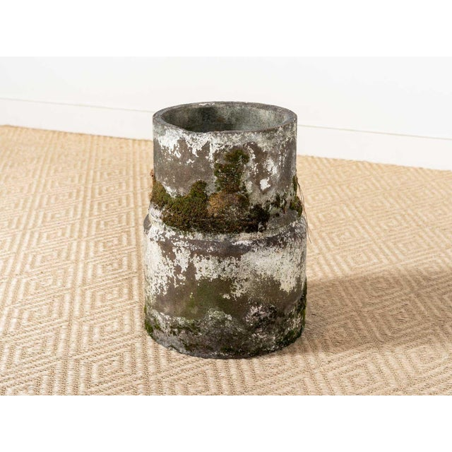Vintage Moss Concrete Table Base For Sale - Image 6 of 6