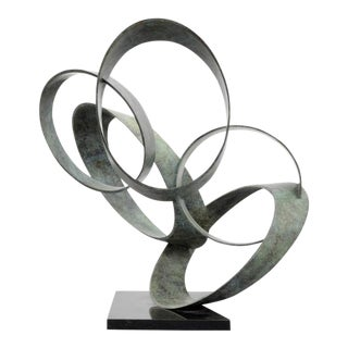 Large Larry Mohr Abstract Sculpture