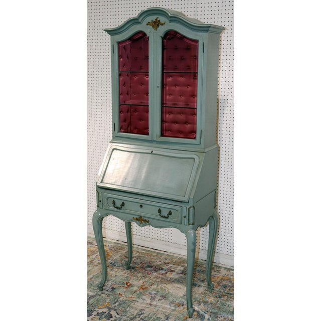 French Louis XV Style Secretary Desk For Sale - Image 12 of 12
