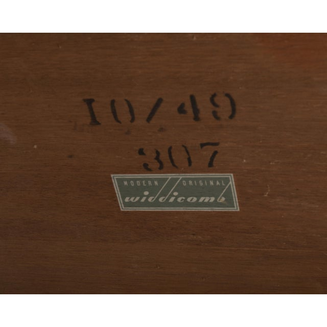 T.H. Robsjohn Gibbings Widdicomb Parsons End Tables - a Pair 1949 For Sale - Image 12 of 13