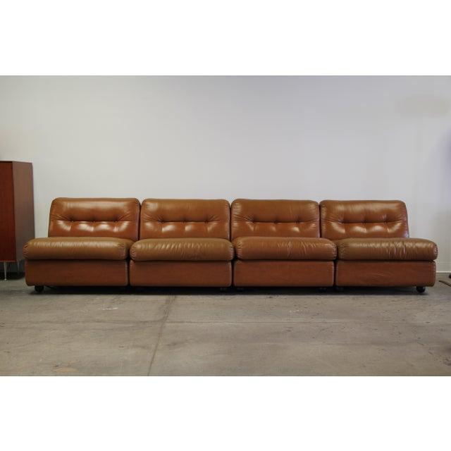 1970s Vintage Mario Bellini Amanta Modular Sofa For Sale - Image 13 of 13