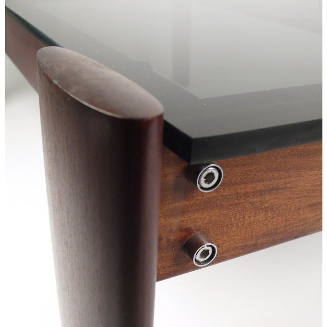 Brown Percival Lafer Coffee Table in Jacaranda Rosewood For Sale - Image 8 of 10