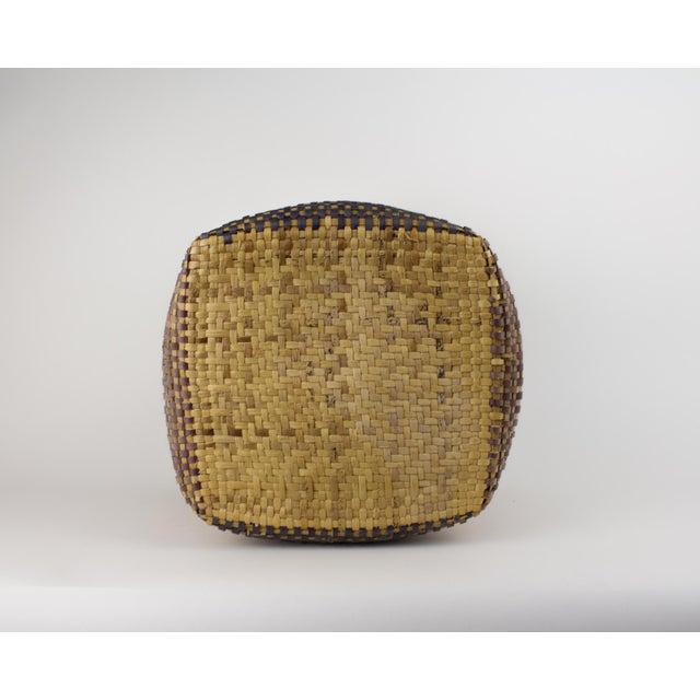 Vintage Tribal Basket For Sale - Image 9 of 12