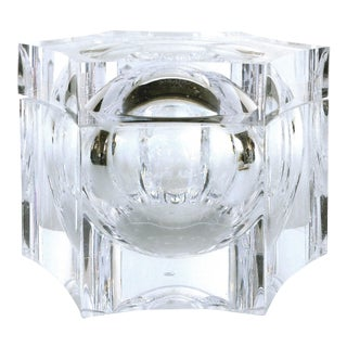 Overscale Lucite Ice Bucket by La Belle Creations of Italy For Sale