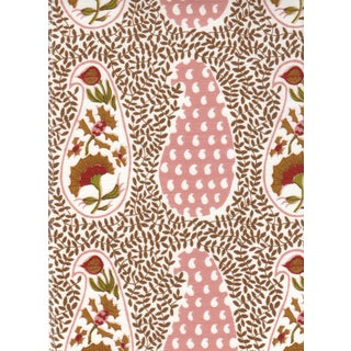 Virginia Kraft Jangal Supreem Fabric, Sample in Warm For Sale