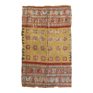 Central Anatolian Kilim Rug - 5′5″ × 8′6″ For Sale
