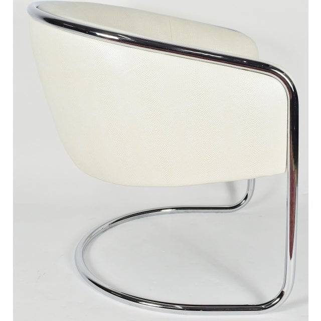 Early 20th Century Thonet Barrel Back Club Chair For Sale - Image 5 of 7