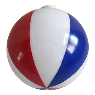 Beach Ball Flush Light