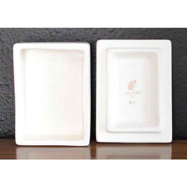 Sascha Brastoff Sascha Brastoff Ceramic Box For Sale - Image 4 of 7