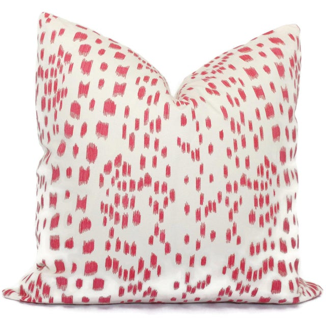 Add a pop o' pink to your room with this iconic Brunschwig and Fils pattern. This a crisp clean look with an abstract...