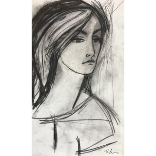 Woman Sketch #2 by Heidi Lanino For Sale