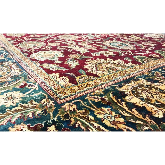 New Gallery Size Traditional Hand Woven Rug Based on authentic Persian designs and using only the finest of wool's, these...
