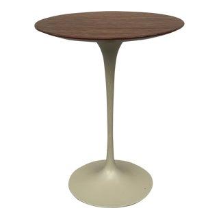 Eero Saarinen Walnut Tulip Side Table For Sale