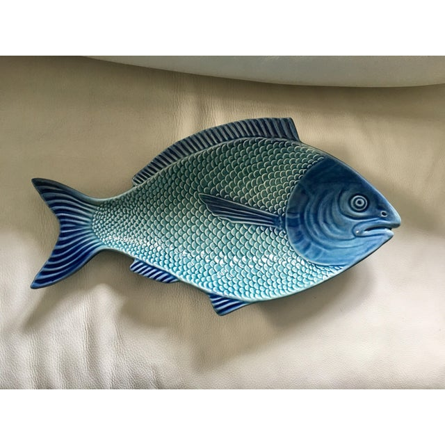 Portuguese Fish Shaped Platter - Image 2 of 7