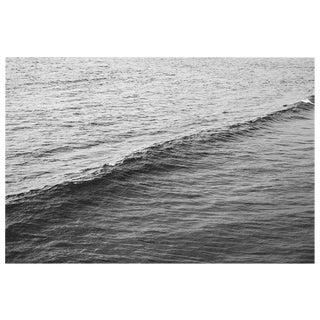 Black and White Ocean Wave Photograph For Sale