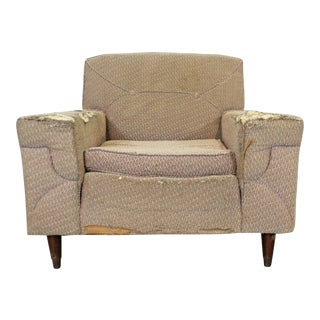 Mid-Century Danish Modern Kroehler Lounge/Club Chair For Sale
