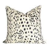 Image of Brunschwig & Fils Les Touches Black Pillow Cover For Sale