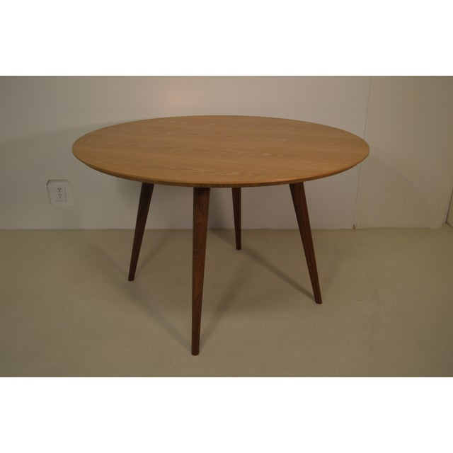 Wood Dining Table - Image 3 of 4