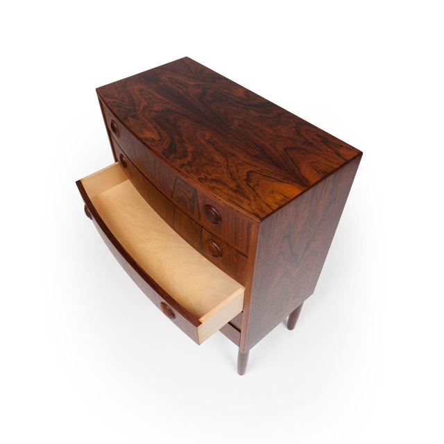 1960s Vintage Rosewood Chest of Drawers by Kai Kristiansen 1960s For Sale - Image 5 of 9