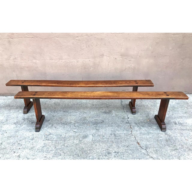19th Century Antique Benches - a Pair For Sale - Image 12 of 12
