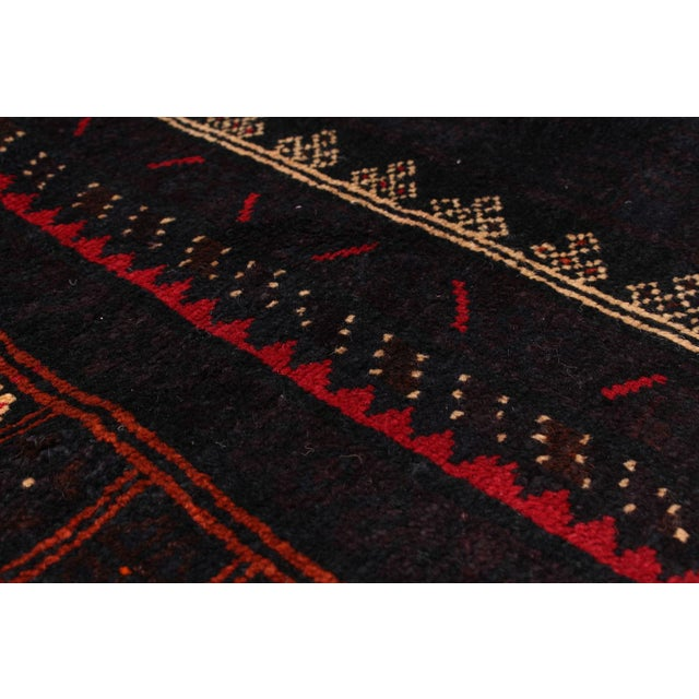 "Hand-Knotted Afghan Rug - 5'9"" X 10'1"" - Image 2 of 2"
