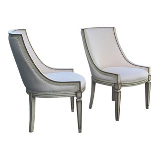 Baker Neoclassic Chairs - A Pair