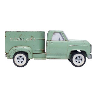 Light Green Vintage Toy Horse Carrier Truck Photograph