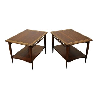 Pair of Mid-Century Modern Andre Bus Lane Acclaim End Tables For Sale