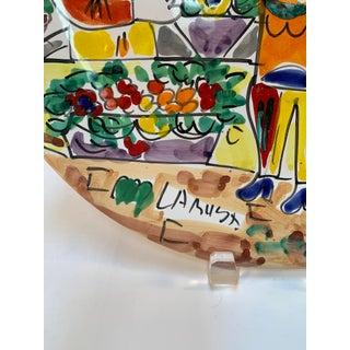 La Musa Desimone Italy Flower Market Decorative Wall/Serving Plate Preview