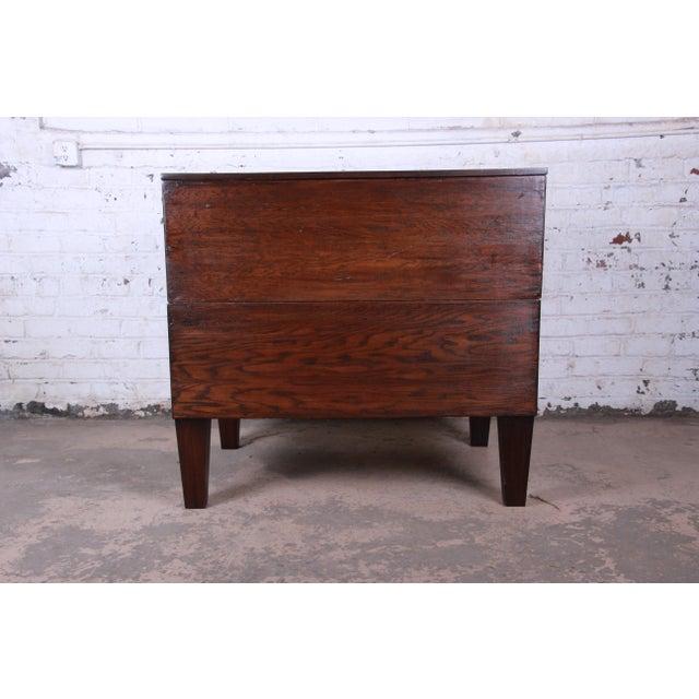 Vintage Dark Oak Blueprint Flat File For Sale - Image 10 of 11