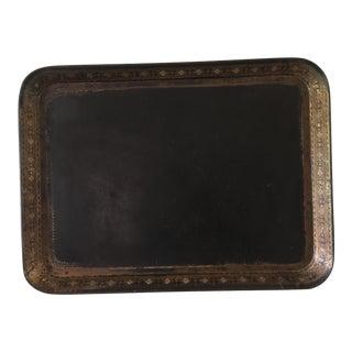 Late 19th Century Victorian Papier-Mâché Tray For Sale