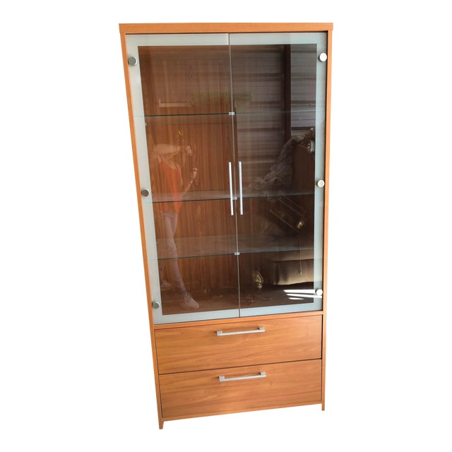 Esf Furniture Carmen Curio Cabinet Chairish