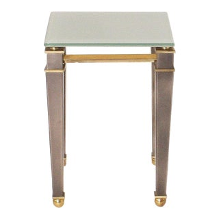 Brass Side Table by Belgo Chrome, C. 1960 For Sale