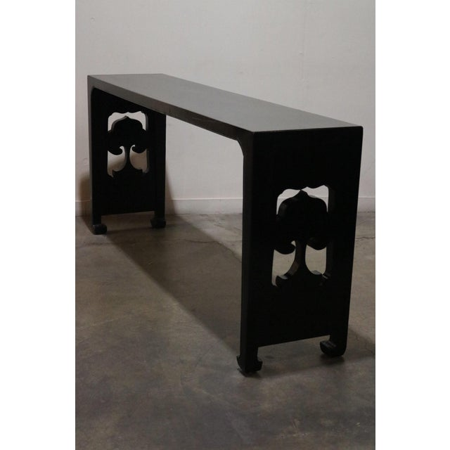 19th Century Chinese Black Altar Table For Sale In Los Angeles - Image 6 of 8
