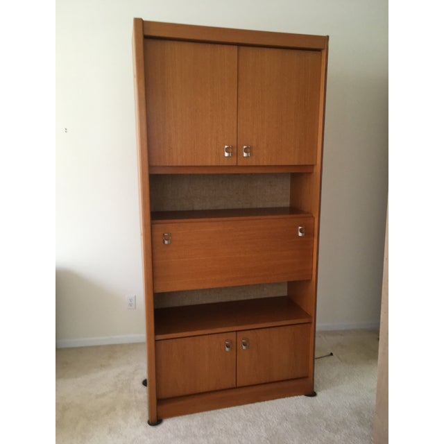 Mid-Century Swedish Teak Wall Cabinet - 3 Piece For Sale In Chicago - Image 6 of 12