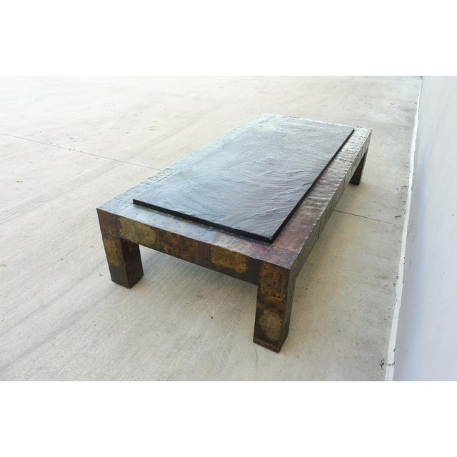 1970s 1970's Directional Paul Evans Patchwork Coffee Table For Sale - Image 5 of 9