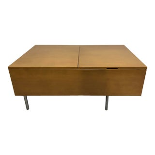 1960s Maple Blanket Box or Chest by George Nelson for Herman Mliler For Sale