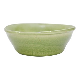 Vintage Celadon Green Glazed Bowl For Sale