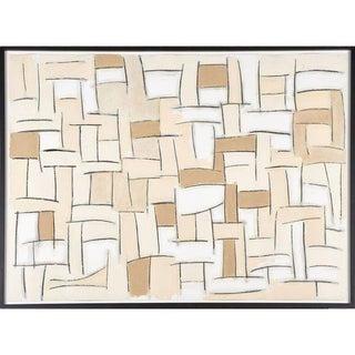 Modern Oil & Graphite on Paper by Roberto Horacio Elia For Sale