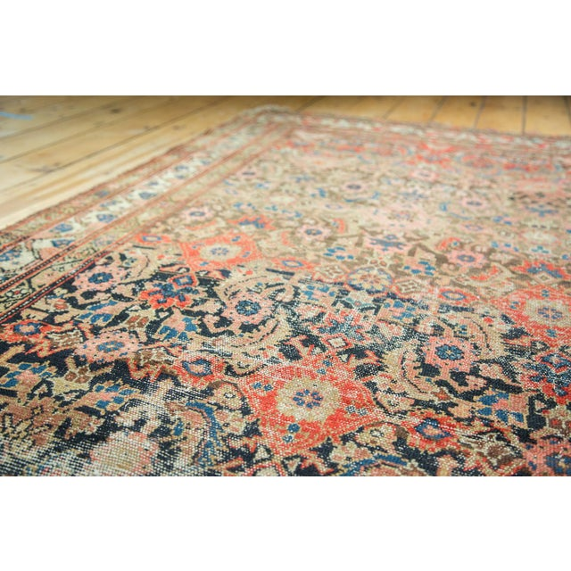 "Antique Hamadan Rug Runner - 4' X 8'10"" - Image 8 of 10"