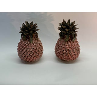Small Ceramic Pineapple Decor - a Pair Preview