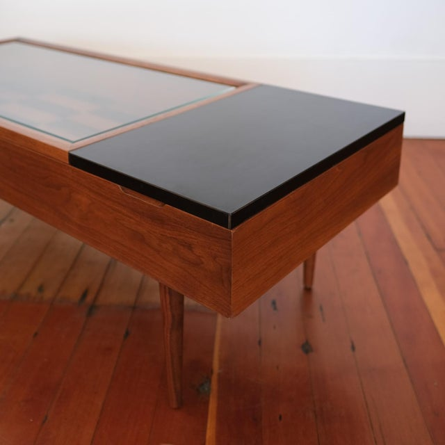 Mid-Century Modern Vitrine Coffee Table by Stewart MacDougall for Glenn of California For Sale - Image 3 of 13