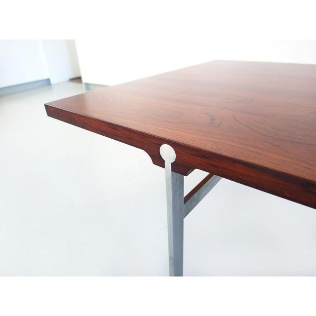 Sofa Table by Illum Wikkelsø for Søren Willadsen Møbelfabrik, Denmark, 1960s - Image 6 of 8