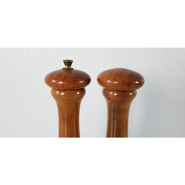 American Italian Mid-Century Danish Salt and Pepper Shakers a Pair For Sale - Image 3 of 8