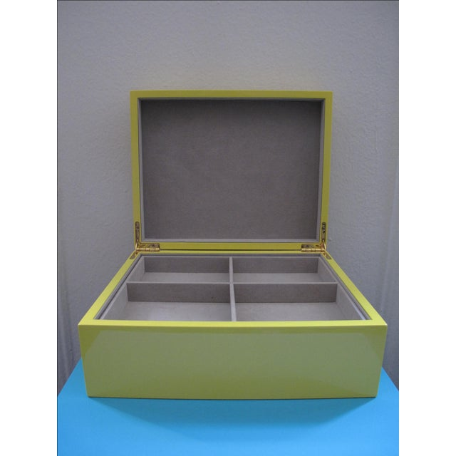 Lacquer Jewelry Box - Image 4 of 5