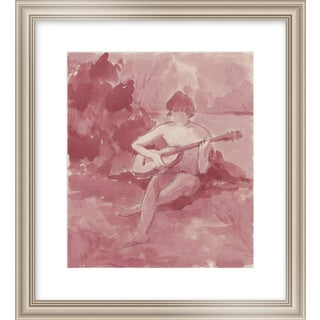 """Medium """"Song by the River"""" Print by Michelle Farro, 18"""" X 22"""" For Sale"""