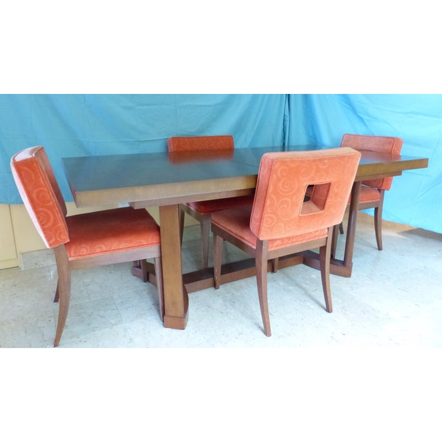 Mid-Century Modern Dining Set - Image 2 of 11