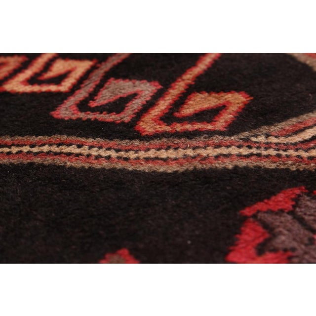 "4'0"" x 10'2"" Ardabil Vintage Persian Rug - Image 2 of 2"